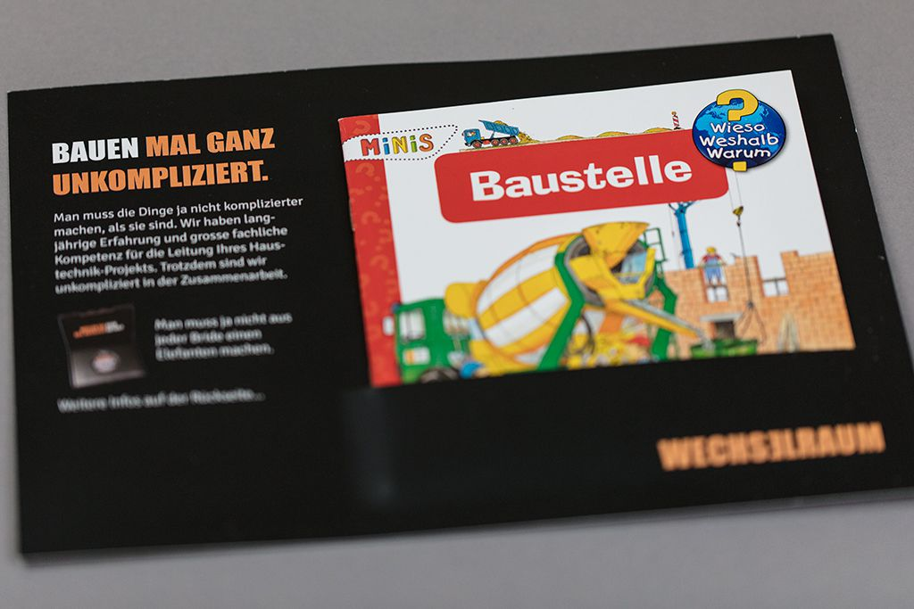 Baustelle Mailing